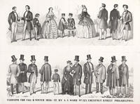 Fashions for fall & winter 1856-7 by A. F. Ward no. 125 Chestnut Street Philadelphia