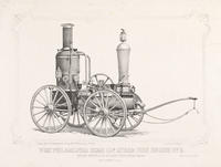 West Philadelphia Hose Cos. steam fire engine no. 3.