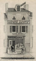 [T. E. Chapman, book store and book bindery, 74 North Fourth Street, Philadelphia]