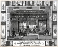 Finn & Burton's paper hangings warehouse No 142, Arch St. Phila.