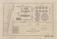 Ground plan of the Philadelphia Gas Works.