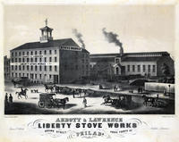 Abbott & Lawrence. Liberty Stove Works, Brown Street above Fourth St. Philada.