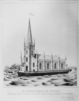 The Floating Church of the Redeemer, Philadelphia. Built by Clement L. Dennington of New York for the Churchmen's Missionary Association for Seamen.