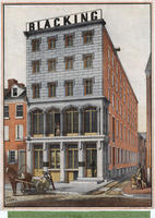 [James S. Mason & Co., 108 North Front Street, challenge blacking, ink &c. manufactory]
