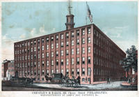 Cornelius & Baker, 181 Cherry Street, Philadelphia. Manufacturers of lamps, gas fixtures etc.