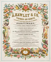 A. Hawley & Co., perfumers and chemists, no. 39 North Fourth Street, above Arch, Philadelphia.