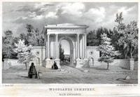 Woodlands Cemetery. Main entrance.
