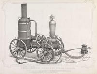 Philadelphia Hose Cos. steam engine