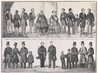 Philadelphia, Paris & New-York, fashions for fall & winter 1858-9. Published and sold by F. Mahan, no. 720 Chestnut Street, Philadelphia.