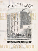 Parham's sewing machine manufactory, George St. below Tenth, Philadelphia: