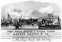Penn Steam Engine & Boiler Works. Foot of Palmer Street, Kensington, Philadelphia. Reaney Neafie & Co. engineers, machinists, boiler makers, black smiths & founders.