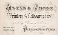 Stein & Jones, printers & lithographers, no. 320 Chestnut Street, Philadelphia.