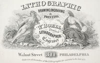 W. Boell, practical lithographer and engraver, 311 Walnut Street Philadelphia.