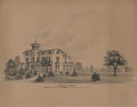 Poplar Grove. Residence of E.S. Richards, near Germantown, Penna.