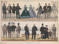 Philadelphia Paris & New York fashions for spring & summer of 1867, published and sold by F. Mahan, no. 911, Chestnut Street Philadelpiha.