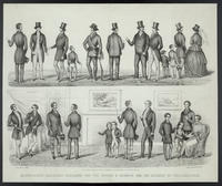 Shankland's American fashions for the spring & summer of 1852, 100 Chestnut St. Philadelphia.