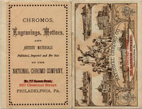 National Chromo Co., 927 Chestnut Street, Philadelphia, Pa. [catalog cover]