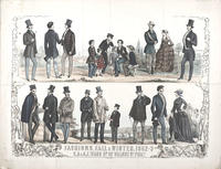 Fashions. Fall & winter. 1852-3, S.A. & A.F. Ward no. 62 Walnut St. Phila.