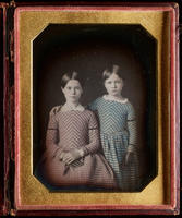 [Portrait of two sisters, Caroline and Mary Wood.]