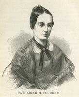 1820-1899 American Connecticut 1886 Young Woman Portrait Wide Varieties United Jared Bradley Flagg