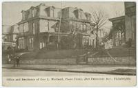 Office and residence of Geo. L. Maitland, piano tuner, 4806 Fairmount Ave., Philadelphia.