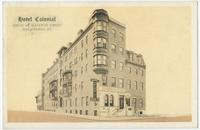Hotel Colonial, Spruce at Eleventh Street, Philadelphia, Pa.