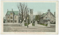 St. Luke's Church and rectory postcards.