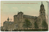 Immaculate Conception Church chapel and St. Vincent's College, Germantown, Pa.