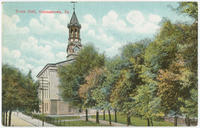 Germantown Town Hall postcards.