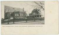 First Congregational Church and parsonage, Germantown, Philadelphia.