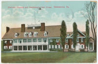 Gentlemen's Club House, Manheim Grounds postcards.