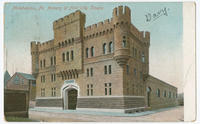 Armory of First City Troops postcards.