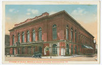 Academy of Music postcards.