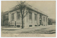 The Free Library of Philadelphia, West Philadelphia Branch, Fortieth and Walnut Streets.