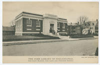 The Free Library of Philadelphia, Oak Lane Branch, Oak Lane and Twelfth Street.