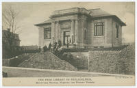 The Free Library of Philadelphia, Manayunk Branch, Fleming and Dupont Streets.