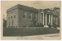 The Free Library of Philadelphia, Logan Branch, Wagner Avenue and Old York Road.