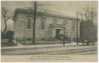 The Free Library of Philadelphia, Chestnut Hill Branch, 8711 Germantown Avenue.