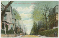 Penn Street looking north, Germantown Pa. postcards.