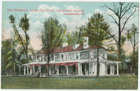 Price Homestead, Ladies' Club House, Manheim Grounds postcards.