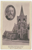 Zion German Presbyterian Church, 28th and Cabot Sts., Philadelphia, Pa. Rev. C.T. Albrecht, pastor.