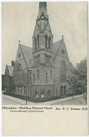 Heidelberg Reformed Church, Nineteenth and Oxford Streets, Philadelphia.