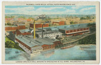 McDowell Paper Mills - actual paper makers since 1825.