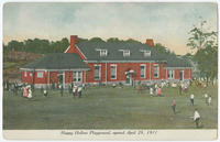 Happy Hollow Playground, opened April 29, 1911.
