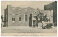 The Free Library of Philadelphia, South Philadelphia Branch. 2407-2417 South Broad Street.