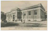 The Free Library of Philadelphia, Paschalville Branch, S.E. cor. Seventieth Street and Woodland Avenue.