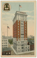 Bell Telephone building, 17th and Arch Streets postcards.