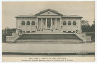 The Free Library of Philadelphia, McPherson Square Branch, Indiana Avenue and F Street.