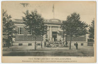 The Free Library of Philadelphia, Kingsessing Branch, Fifty-first Street below Chester Avenue.