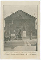 Old St. Paul's Church, No. 225 South Third Street, central office Philadelphia P. E. City Mission.
